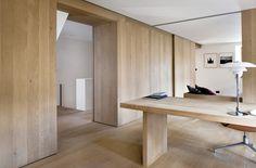 Wide oak flooring and wall cladding - GrandOak by Dinesen