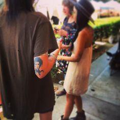 Edward Scissorhands elbow tattoo
