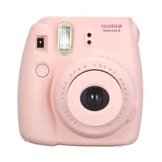 Fujifilm instax mini 8 Instant Film Camera Pink ($70) ❤ liked on Polyvore featuring fillers, camera, accessories, electronics and pink