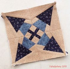Minature Block of the Month February 2015 - The Quilt Room