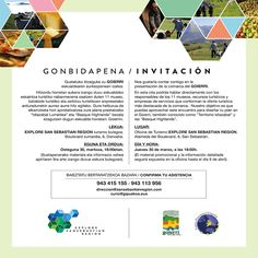 Explore San Sebastian Region nos invita a la presentación de la comarca del GOIERRI TURISMO, EUSKADI - PAIS VASCO #Hosteleria #Gipuzkoa #Kalitatea