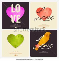 Happy Valentine's day card ,heart, vintage,