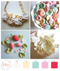 Just love!  bottom left Cath Kidston inspired...