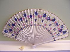 Vintage Hand painted Spanish Fan Signed by LudlownFifth