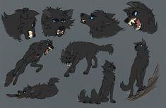 MayaDaBanana Character Sketches by Nightrizer on DeviantArt Animal Sketches, Animal Drawings, Cute Drawings, Art Sketches, Wolf Drawings, Character Sketches, Character Art, Werewolf Art, Warrior Cats Art