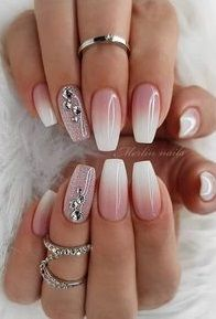 Superb nail designs for women in 2019 plum nails, bling nails, nude nails, Nail Art Designs, Ombre Nail Designs, Acrylic Nail Designs, Plum Nails, Gel Nails, Nail Polish, Bling Nails, Nude Nails, Simple Wedding Nails