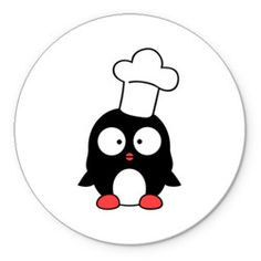 Пингвин повар