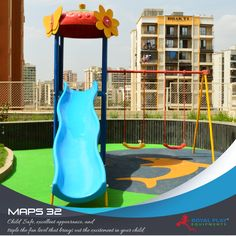 MAPS 32   #royalplayequipment #playground #slides #Childrenattraction