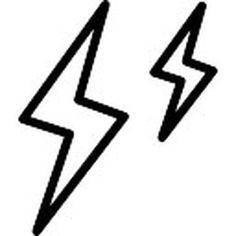 twee-bliksemschichten-geschetst-symbool-van-het-weer_318-69681.jpg (338×338)