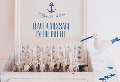 "Navy wedding style: ""Message in the bottle"" Lisbon - Portugal www.comobranco.com @marryinportugal #comobranco"