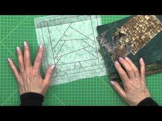 Jane Leonetti,mostra em 3 aulas todos os segredos do paper piecing.