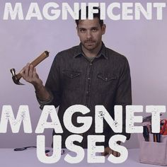Clever Ways To Use Magnets