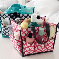 great for the girls to take to and from bathroom and then they could keep in their room. pbteen product #bathroom, #girls