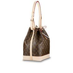 11d85055f Noé Monogram Canvas - Handbags | LOUIS VUITTON Couro Legítimo, Bolsa Chanel,  Bolsa Louis