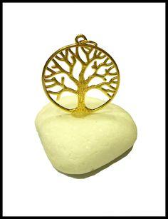 Μπομπονιέρα σε πέτρα με δέντρο ζωής