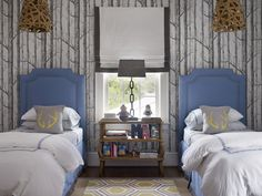 twin beds | Chenault James Interiors