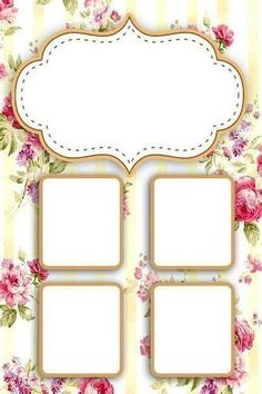 Paper Background Design, Powerpoint Background Design, Flower Background Wallpaper, Flower Backgrounds, Frame Border Design, Page Borders Design, Photo Collage Template, Gem Nails, Borders And Frames