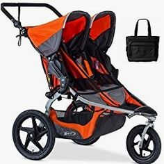Jogging stroller double