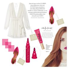 """""""Holland Roden♥"""" by tvdsarahmichele ❤ liked on Polyvore featuring beauty, Rebecca Minkoff, Charlotte Russe, Graphic Image and Too Faced Cosmetics"""