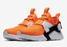 ec078a479ed93 Nike Air Huarache City Low Orange Just Do It Releasing Next Month. New Mens  Fashion