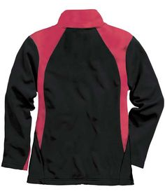 Buy the Charles River Apparel 5077 Women's Hexsport Bonded Jacket from SweatshirtStation.com, on sale now for $37.43 Red/Black #promotional #cheerleadingclothing
