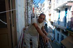In a Cuban balcony...  Log onto www.fotosingh.in for Global Workshops in 2015.