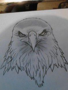02341c64b eagle head more woodburning tattoos and piercings nates cooler tattoo ...  Eagle Head Tattoo