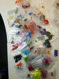 Bricklink Lego Einkauf von BBS-Bruns-Brick. Knapp 1.400 Einzelteile