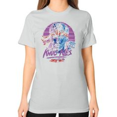 Knuc kles Unisex T-Shirt (on woman)
