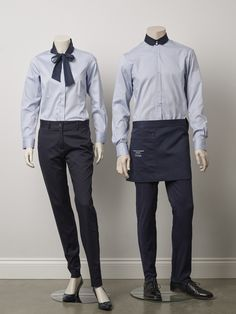 The 02 American Express VIP Lounge designs by The Uniform Studio Cafe Uniform, Waiter Uniform, Hotel Uniform, Uniform Shop, Office Uniform, Men In Uniform, Restaurant Uniforms, Staff Uniforms, Uniform Design