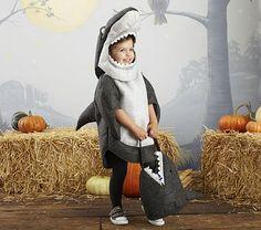 Lovely Pottery Barn Shark Costume
