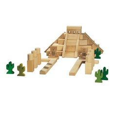 Amazon.com : Mayan Temple Architectural Blocks : Hobby Model Architecture Building Kits : Toys & Games