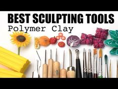 Most recent Photo Sculpture Clay tools Ideas There are several forms of clay courts useful for porcelain figurine, many diverse concerning controlling and Polymer Clay Tools, Polymer Clay Miniatures, Polymer Clay Projects, Polymer Clay Creations, Polymer Clay Jewelry, Clay Earrings, Clay Ornaments, Paperclay, Clay Tutorials