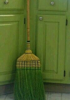 Green Broom ....