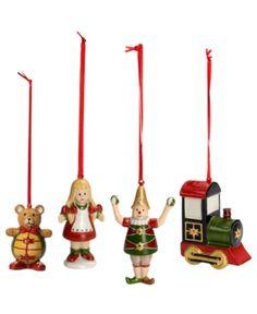 Villeroy & Boch Christmas Ornaments, Set of 4 Nostalgic Toys. Villeroy & Boch Christmas Ornaments, Set of 4 Nostalgic Toys Home - Misc Holiday Lane. Price: $29.00