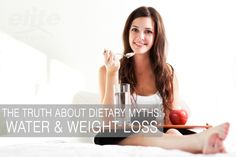 The Truth About Dietary Myths: Does drinking water help you lose weight