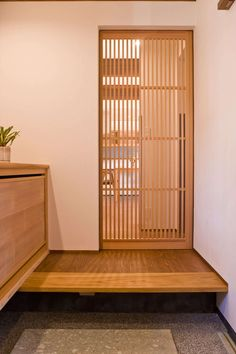 Modern Japanese Interior, Japanese Modern House, Japanese Interior Design, Home Interior Design, Interior Architecture, Japanese Door, Muji Home, Zen Interiors, Japan Interior