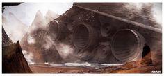 """""""Fallen Empire"""" by Dylan Kowalski."""