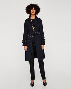 ZARA - SALE - TRENCH COAT WITH RUFFLED SLEEVES