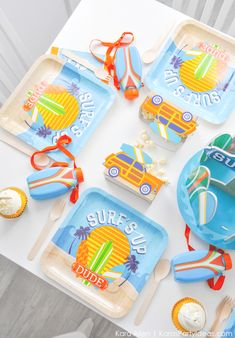 Surf's Up Surfing themed party by Kara's Party Ideas | KarasPartyIdeas.com-185