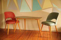 Vintage Nierentisch Sixties 60er-Jahre