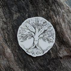 Loving Tree Temporary Tattoo Tree Tattoo by OctaviaTattoo on Etsy, £3.75