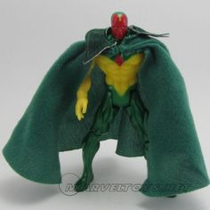 Vision  Miscellaneous Series Marvel Gold - 1998 /// Pinned by: Marvelicious Toys - The Marvel Universe Toy & Collectibles Podcast [ www.MarveliciousToys.com ]