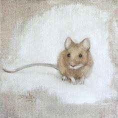 "Leslie Sealey | OIL | ""Mouse"""
