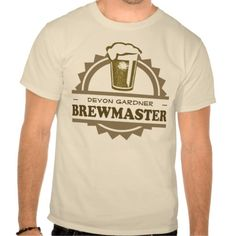 Beer Brewmaster T Shirts