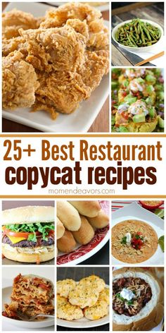Best Restaurant Copycat Recipes - delicious restaurant comfort food flavors you can make at home! Best Restaurant Copycat Recipes - delicious restaurant comfort food flavors you can make at home! Copykat Recipes, Gourmet Recipes, Cooking Recipes, Cooking Bacon, Cooking Beets, Cooking Pasta, Cooking Steak, Cooking Tips, Gazpacho