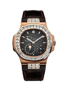 Patek Philippe Nautilus Grey Dial Automatic Men's Watch 5724R