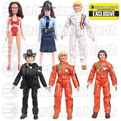 Dukes of Hazzard 8-Inch Action Figure Set - EE Exclusive - Figures Toy Company - Dukes of Hazzard - Action Figures at Entertainment Earth