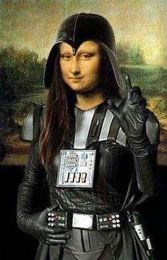 Mona Darth Vader
