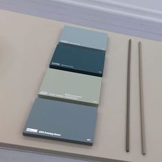 LADY's new color chart helps you achieve harmonic color combinations. Look as beautiful as it gets when blue-green colors such as LADY 6350 Soft Teal, 5454 Dark Teal, and 6352 Evening Green Wall Colors, Paint Colors, Color Combinations, Color Schemes, Jotun Lady, Dark Teal, Ash Grey, Lofoten, Nordic Bedroom